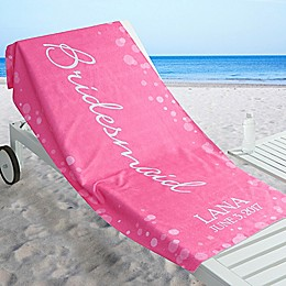 Bridal Brigade Beach Towel