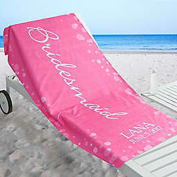 Bridal Brigade Beach Towel