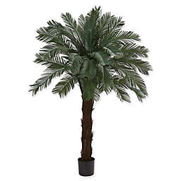 Nearly Natural 42-Inch Artifical Cycas Tree in Black Pot