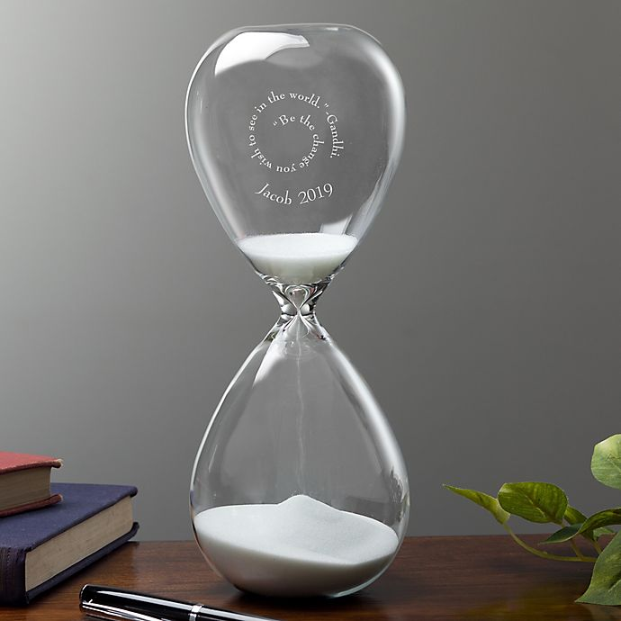 Alternate image 1 for Inspiring Quotes Sand-Filled Hourglass