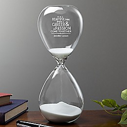Professional & Passionate Sand-Filled Hourglass