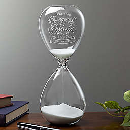 Time with Teachers Sand-Filled Hourglass