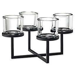 Blomus 4-Tealight Holder with Square Chandelier Base