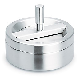 Blomus Spinning Top Ashtray in Matte Stainless Steel