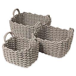 Blomus Cotton Baskets (Set of 3)