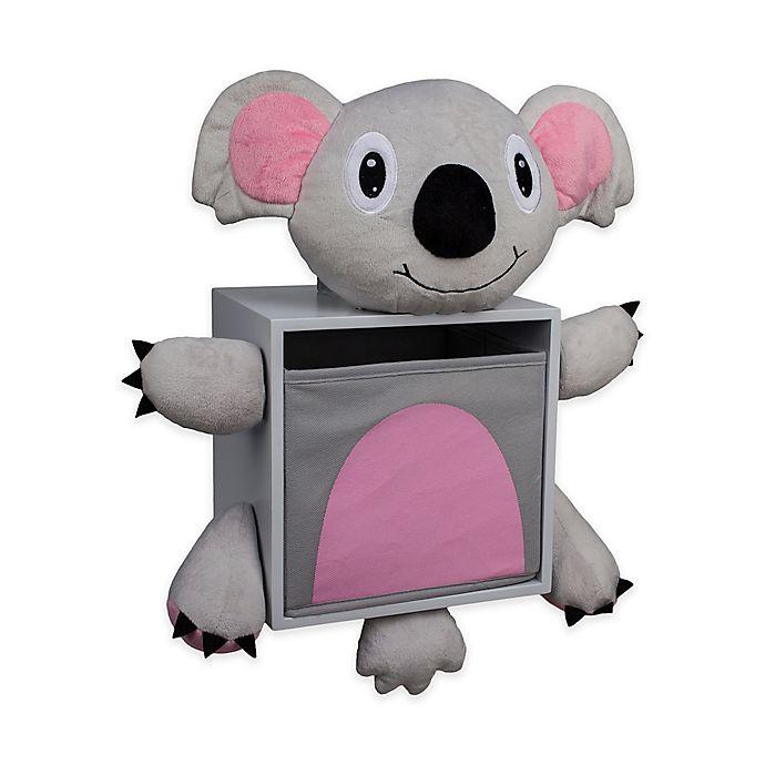 Alternate image 1 for Danya B™ Plush Koala Bear Children's Wall Storage Bin