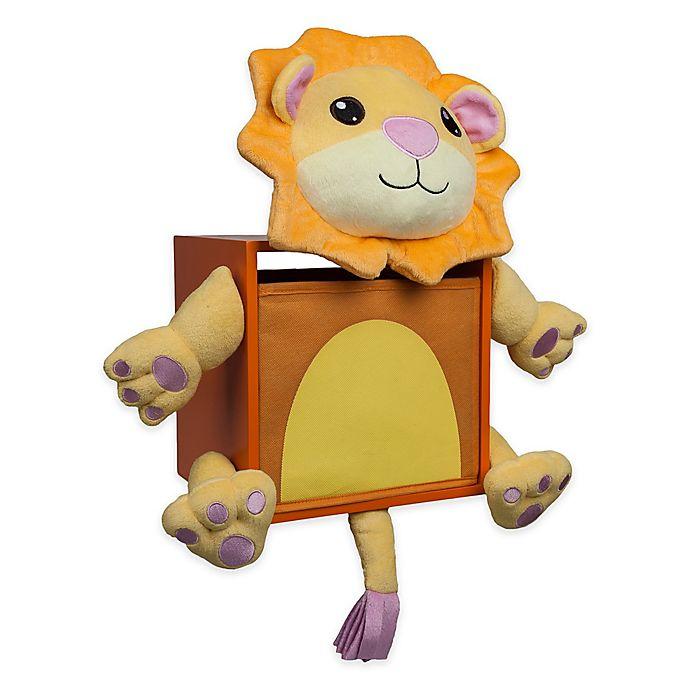Alternate image 1 for Danya B™ Plush Lion Children's Wall Storage Bin