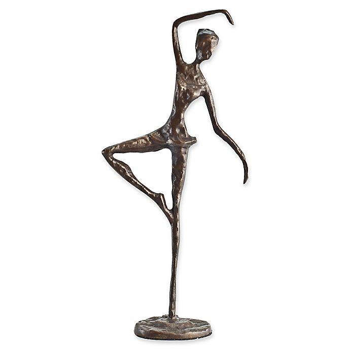 Alternate image 1 for Danya B.™ Standing Ballerina Bronze Sculpture