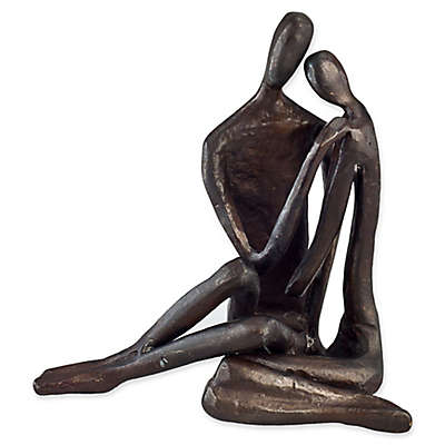 Danya B.™ Couple Embracing 6-Inch Bronze Sculpture