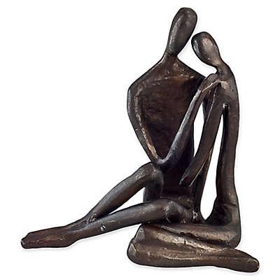 Danya B.™ Couple Embracing 4-Inch Bronze Sculpture