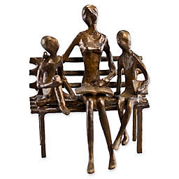 Danya B™ Mother Reading to Children Bronze Sculpture