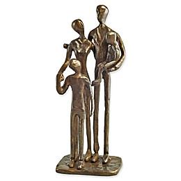 Danya B™ Family of Four 7-Inch Bronze Sculpture