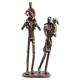 Danya B™ Parents Carrying Children Bronze Sculpture