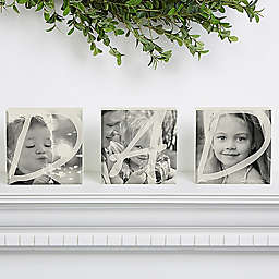 Dad Photo Self Blocks (Set of 3)