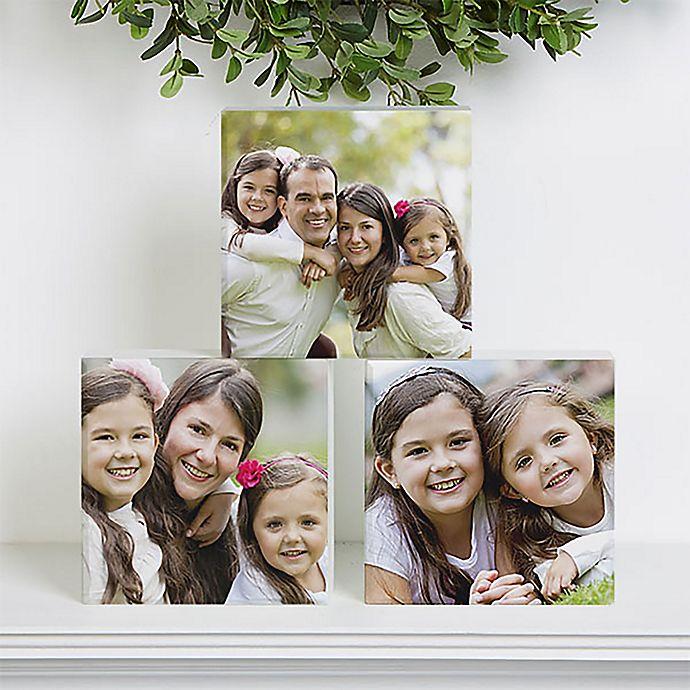 Alternate image 1 for Photo 5-Inch Square Shelf Block