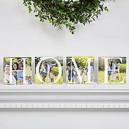 Home Photo Shelf Blocks (Set of 4)