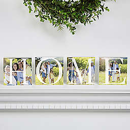Home Photo Shelf Blocks (Set of 4)
