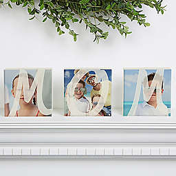 Mom Photo Shelf Blocks (Set of 3)