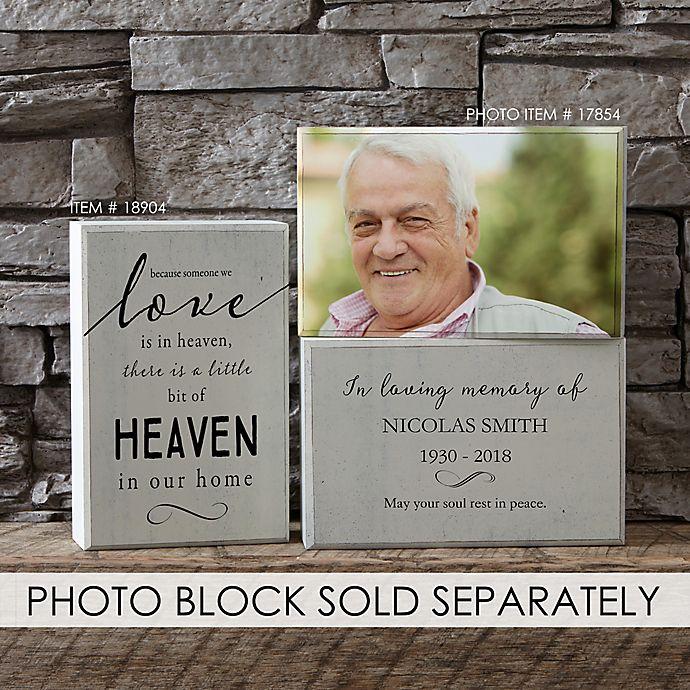 Alternate image 1 for Heaven in Our Home Rectangle Shelf Blocks (Set of 2)