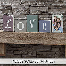 Single Letter Décor Square Shelf Block