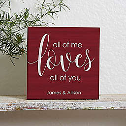 All of Me Shelf Block