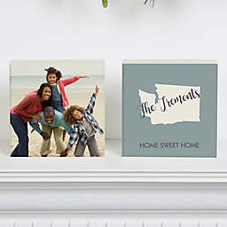 State Pride Shelf Blocks (Set of 2)