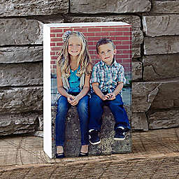 Rectangular Photo Shelf Block
