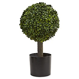 Nearly Natural Boxwood Ball Topiary Tree