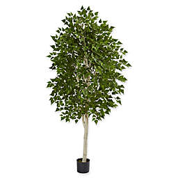 Nearly Natural 36-Inch Birch Artificial Tree in Green