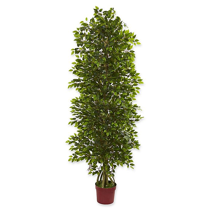 Alternate image 1 for Nearly Natural Mini-Ficus Tree