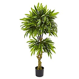Nearly Natural 26-Inch Mango Artificial Tree in Green
