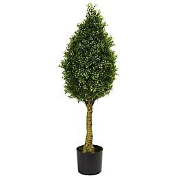 Nearly Natural 4-Foot Boxwood Tree