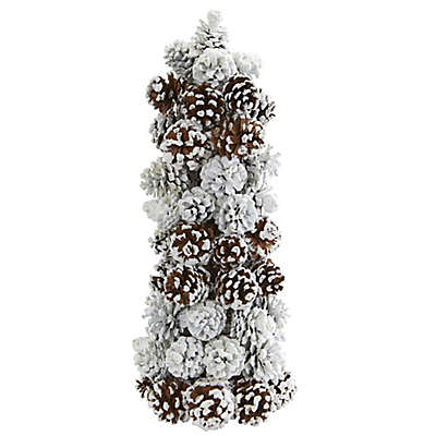 Nearly Natural 17.5-Inch Pine Cone Tree