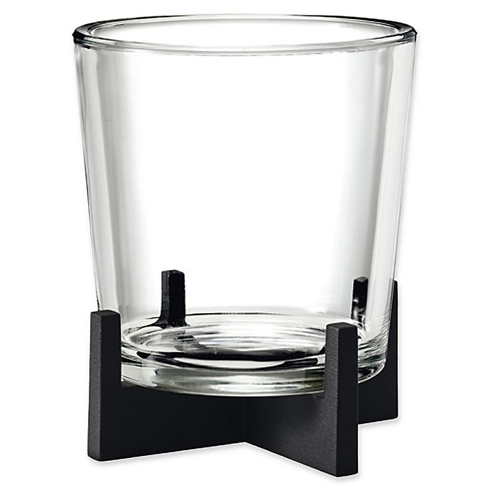 Alternate image 1 for Blomus Nero Large Tabletop Candle Holder in Black