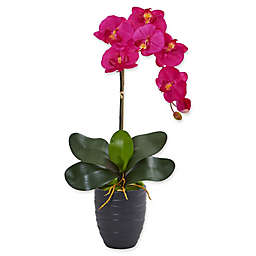 Nearly Natural 22.5-Inch Orchid Artificial Arrangement