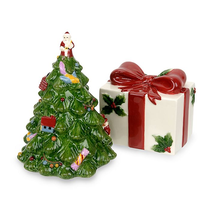 Buy Spode Christmas Tree Salt And Pepper Shaker Set From Bed Bath Beyond