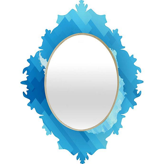 Alternate image 1 for Deny Designs Antarctica 2 Baroque Medium Wall Mirror