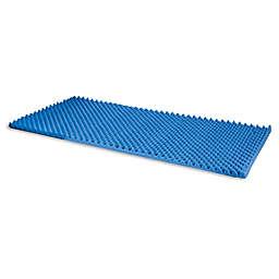 Drive Medical DMI Convoluted Foam Mattress Pad in Blue