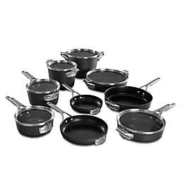Calphalon® Premier™ Space Saving Hard Anodized Nonstick 15-Piece Cookware Set