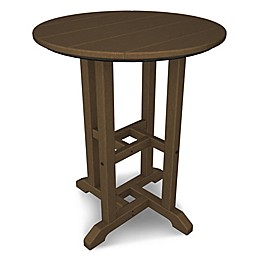 POLYWOOD® Traditional 24-Inch Round Table Collection