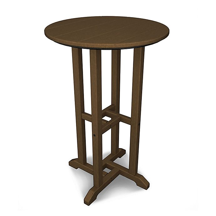 Alternate image 1 for POLYWOOD® Traditional 24-Inch Round Counter Table