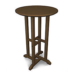 POLYWOOD® Traditional 24-Inch Round Counter Table