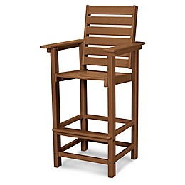 POLYWOOD® Captain Bar Stool