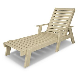 POLYWOOD® Captain Chaise with Arms