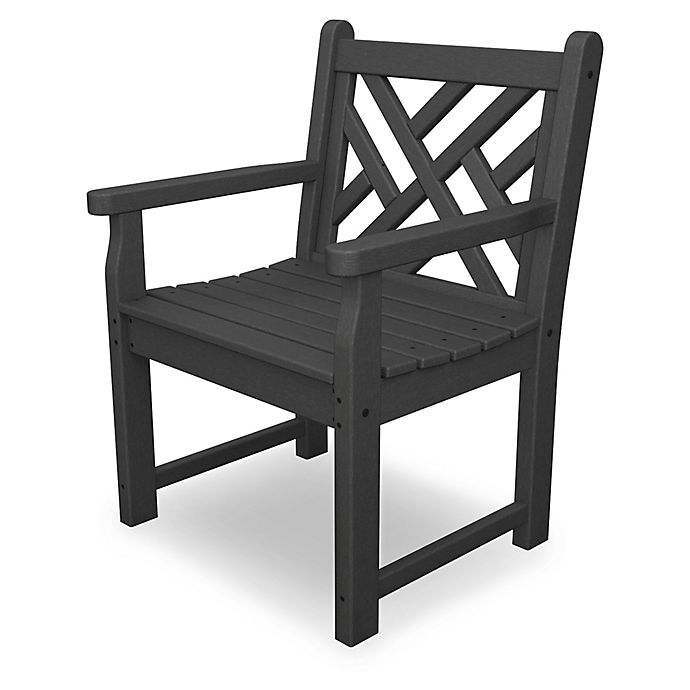 Alternate image 1 for POLYWOOD® Chippendale Garden Chair