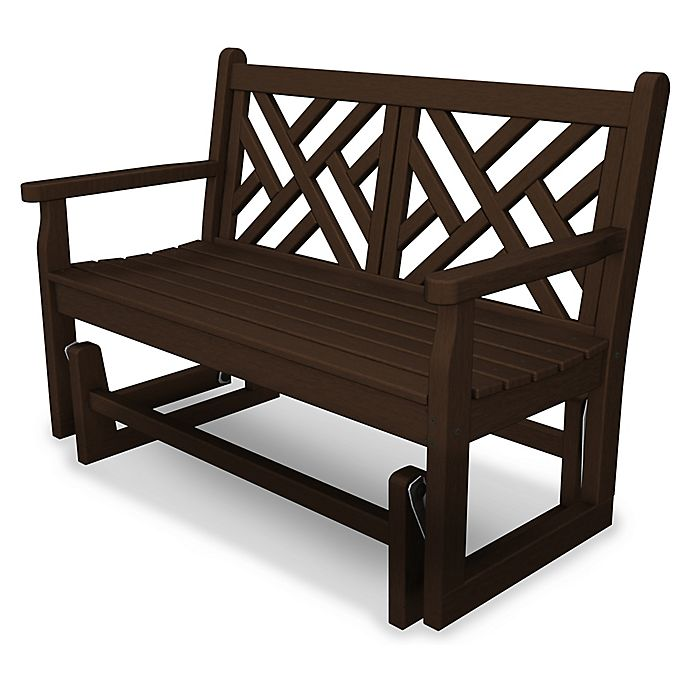 Alternate image 1 for POLYWOOD® Chippendale Garden Glider