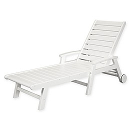 POLYWOOD® Signature Chaise with Wheels
