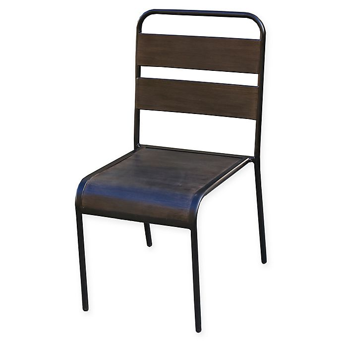 Alternate image 1 for Destination Summer Bistro Chairs in Brown (Set of 2)
