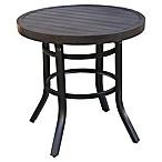 Destination Summer 28-Inch Bistro Table in Brown