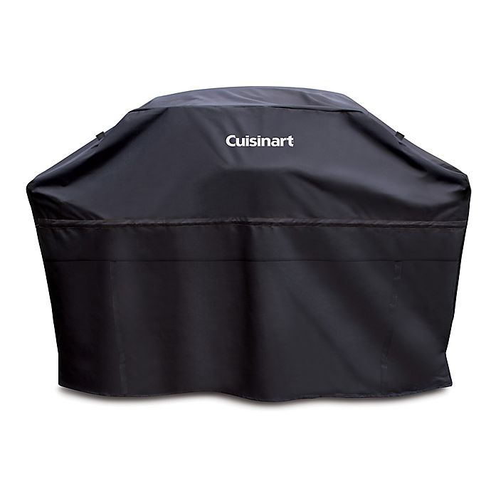 Alternate image 1 for Cuisinart® 60-Inch Heavy-Duty Grill Cover in Black